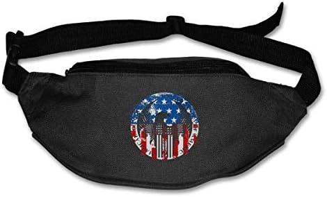 アメリカ合衆国魔法のユニセックス屋外ファニーパックベルトバッグスポーツウエストパック