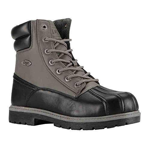 Lugz Mens Avalanche Hi Work/Duty Boots Black