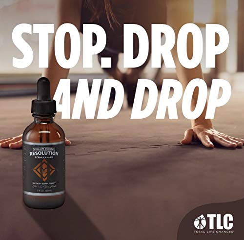TLC Resolution & Life Weight Loss Drops: 2 Oz - 60 ML (Resolution Drops) by Total Life Changes (Image #1)