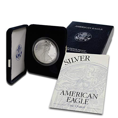 (1994 P American Silver Eagle $1 Proof w/OGP & COA)
