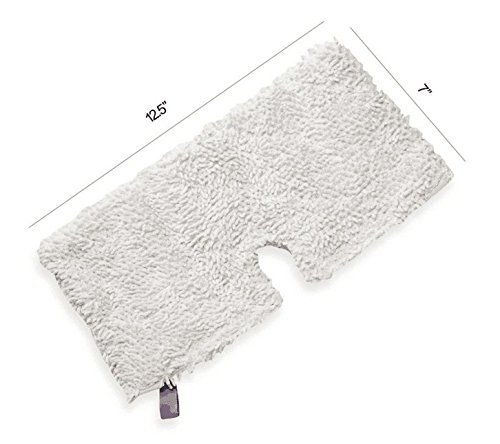 2 pcs All-Purpose Microfiber Steam Mop Pad Replacement Dust Cleaning Pads for Shark Pocket Mop S3550, S3551, S3601, S3801CO, S3901 by GIBTOOL (Image #1)