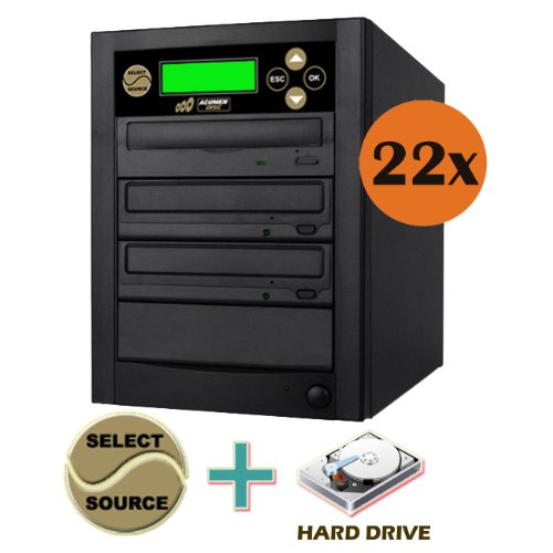 Acumen Disc 1 to 2 Multiple DVD CD Optical Media Copier D...