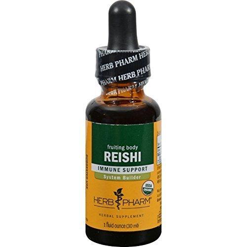 Herb Pharm Reishi Mushroom 1 oz ( Multi-Pack)