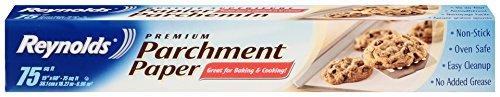 Reynolds Kitchens Parchment Paper (Premium, Non-Stick, 75 Square Foot Roll, 2 Count)