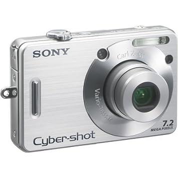sony cyber shot dsc w70 digital camera silver 2 5 amazon co uk rh amazon co uk