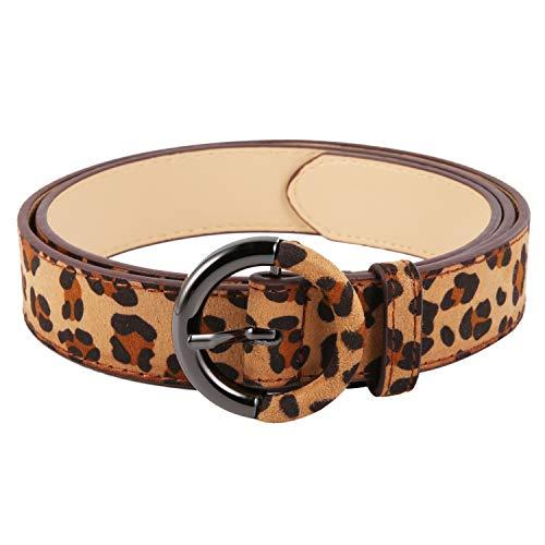 Women Leopard Print Leather...