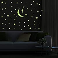 PARLAIM Removable Glow in The Dark Star Wall Stickers Glowing Ceiling Wall Decals Peel Stick Art Decor for Bedroom Nursery Living Room for Kids for Girls and Boy (272 PCS)
