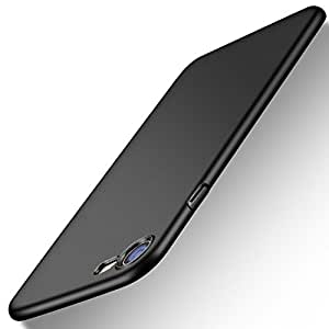 iPhone 7 Case, iPhone 8 Case, TORRAS Slim Fit Shell Hard Plastic Full Protective Anti-Scratch Resistant Cover Case for Apple iPhone 7 (2016) / iPhone 8 (2017) -Space Black