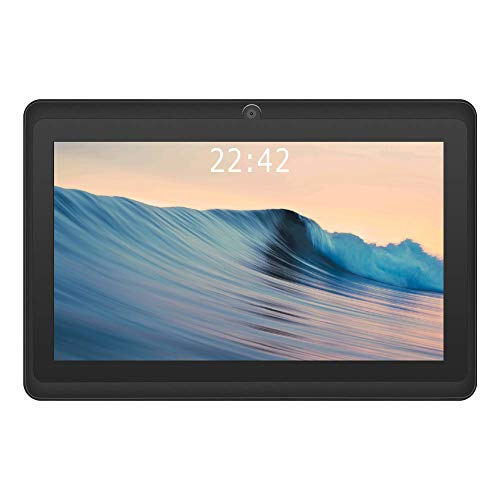 2020 New – YUNTAB 7 inch Android 8.0 Tablet, 1.5 Ghz Quad Core CPU, with WiFi, 1GB RAM, 16GB ROM, 1024×600 HD Touch Screen, Pre-Loaded Google Play Store & Games, Dual Camera(Black)