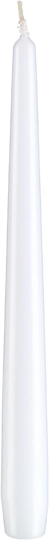 dt Kopschitz Kerzen Marken Qualit/ätskerzen in RAL Kerzen G/üte Qualit/ät Wei/ß 29,5 x 2,3 cm 12 St/ück Passend zum Kerzenleuchter Spitzkerzen konische Kerzen