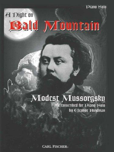 O5412 - A Night On Bald Mountain - Piano Solo (Night On Bald Mountain Piano Sheet Music)