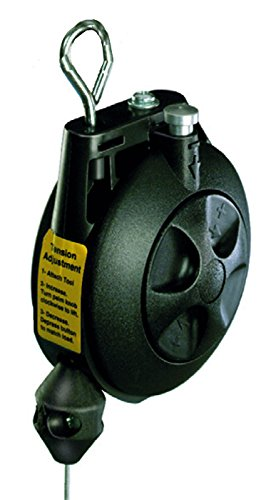 Hubbell Workplace Solutions GR62410005 BD-05 Tool Balancer, Molded ABS Housing, 6' Long Galvanized Steel Aircraft Cable, Min/Max Capacity 3.0-5.0 lb.