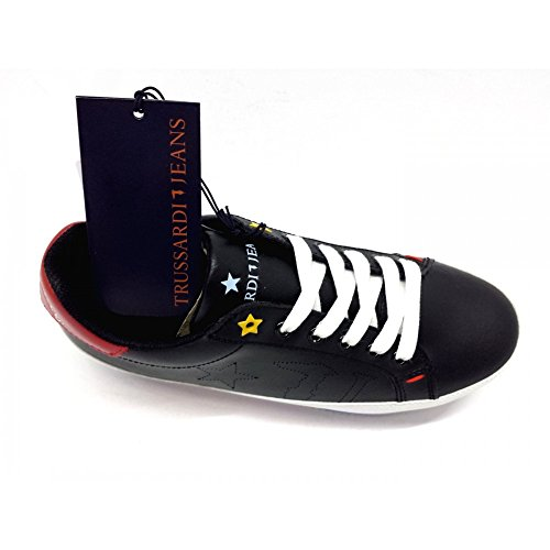 Noir Pour Baskets Femme Noir Jeans Trussardi wR0Hq4XR