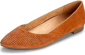 0e0db9fe492f Amazon.com: Vionic Women's Caballo Ballet Flat – Ladies Dress Shoes ...