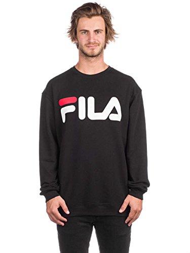 Sweat Logo shirt Classique Pull Fila Schwarz 817nqtqwHx