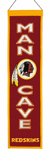 NFL Washington Redskins Man Cave (Washington Redskins Nfl Wall)