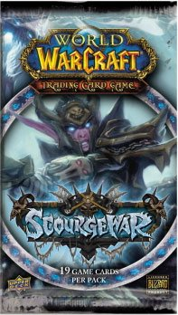 World Packs Warcraft Booster Of - World of Warcraft TCG WoW Trading Card Game Scourgewar Booster Pack