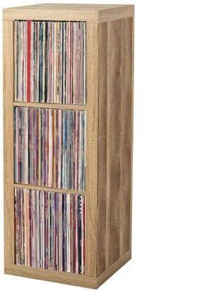 Vinyl Record Storage Shelf | LP Record Album Storage | Vinyl Record Storage Cube