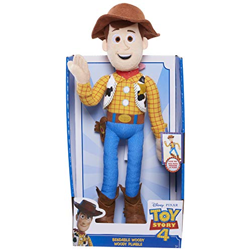 Toy Story 4 Bendable Buddies - Plush Bendable