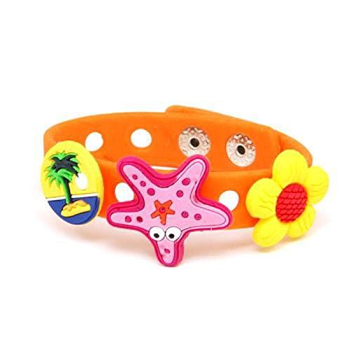 Adorable Bracelet pour Filles Orné de Trois Breloques par La Olivia Collection