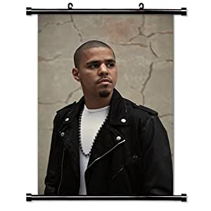 J Cole Artist Wall Scroll Poster (32 x 48) Inches