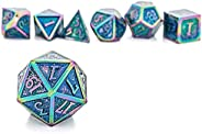 Brandless N/a DND Role Playing Dungeons and Dragons Metal Dice Set Pathfinder RPG Games DND Dice