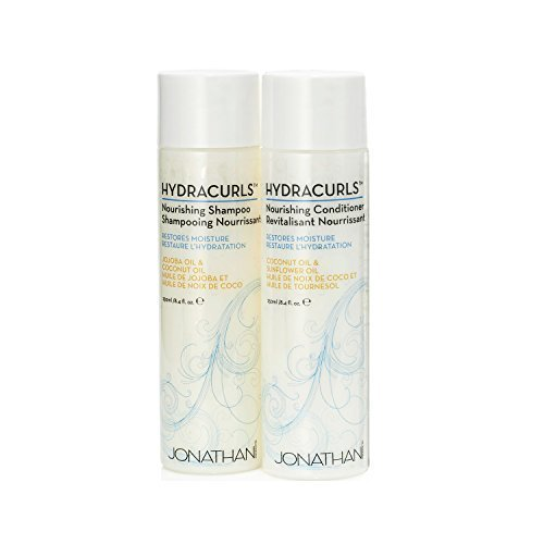 Jonathan Product Hydracurls Color Safe Nourishing Shampoo and Conditioner Revitalisant Nourrissant 8.4 Oz - Malaysia Online Sun The
