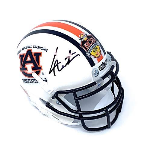 Cam Newton Auburn Tigers Signed Autograph BCS Champs Limited Edition Mini Helmet Newton GTSM Player Hologram Certified