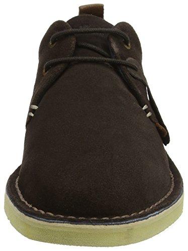 Zapatos 2eye de Brown Marrón Derby Dark Hombre Cordones para Kanning Kickers wU5pqEH