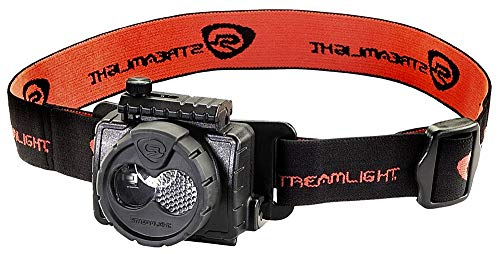 Streamlight 61601 Double Clutch USB Rechargeable Headlamp, Black - 125 Lumens