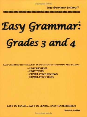 Easy Grammar: Grades 3 and 4