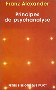 Principes de psychanalyse par Franz Alexander