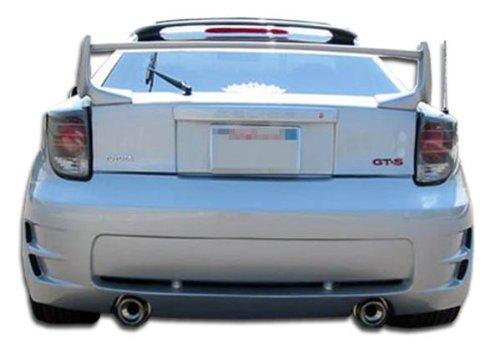 Duraflex ED-LJB-687 Type K Rear Bumper Cover - 1 Piece Body Kit - Compatible For Toyota Celica 2000-2005 (Type 1 Rear Bumper)