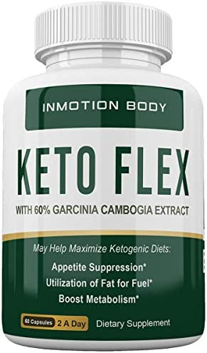 Keto Flex Weight Loss Pills W Garcinia Cambogia Extract – 30 Day Supply