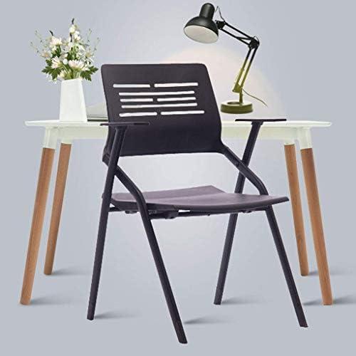 GQQ Chaise de Bureau, Chaises de Salle de Réunion D'Étudiants Chaises Pliantes Chaise Facile de Bureau (54 * 52 * 86Cm) Chaise Pliante