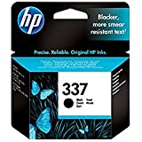 HP No.337 ((Yield 400 Pages) Black Ink Cartridge (11ml) (C9364EE#ABB)