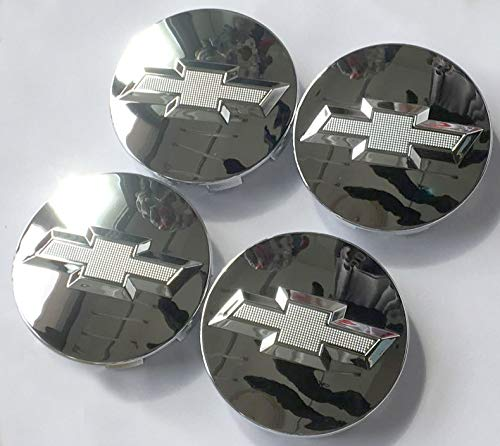 Haocc Loud Autocaps Gosweet CV075 4X Four Pieces Chrome Wheel Center Hub Cap for Chevy 2005-2013 Chevrolet 3.25