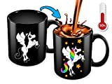 Cortunex Unicorn Morning Coffee Mug. 11 Ounce. Changing Color Mug...