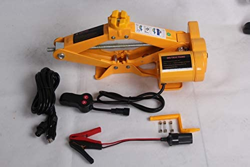 Crank 12V Electric Car Scissor Jack 2 Tonne 12.5-42 cm ZA ZAISHANG