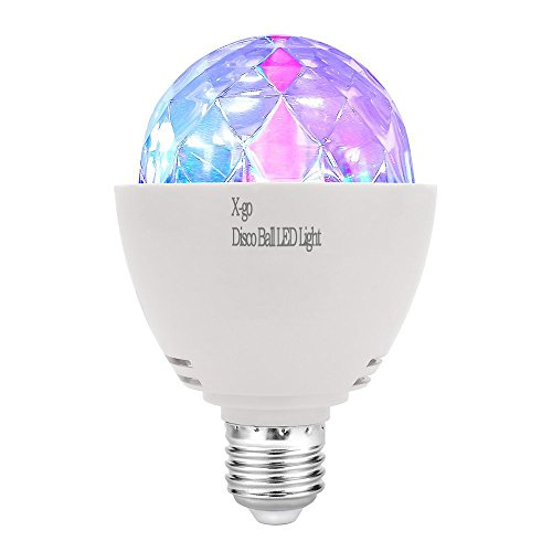 Smart Bulb Disco Ball Lamps – Color Changing RGB LED Light – Mood Lighting for Relaxation, Party Lights, Romantic Dinner, Decorative Bulbs