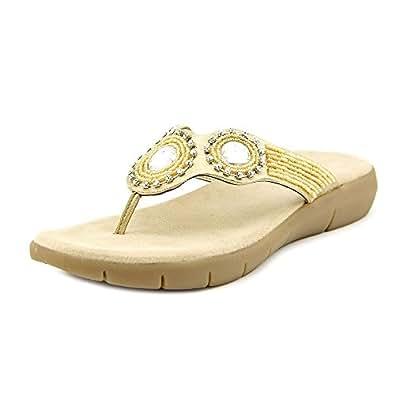 Aerosoles Women's Wip N Slide Sandal,Gold,12 M US