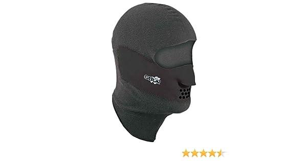Gator Fleece-lined Neoprene Clavagator Face Mask Med