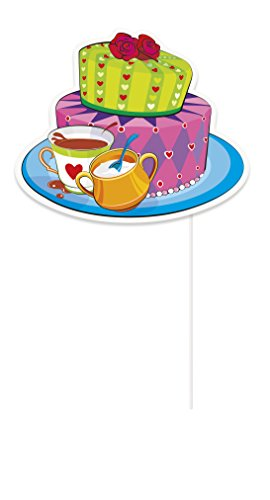 Mad hatter tea party photo booth props 10pc import it all for Mad hatter party props