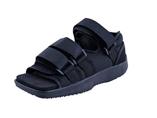 Premium Womens Post Op Broken Toe   Foot Fracture Square Toe Walking Shoe Cast   Medium