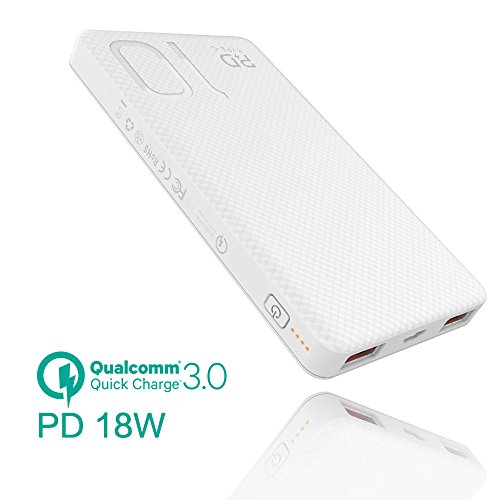 Quick Charge Power Bank,meiyi 7500mAh iPhone PD USB-C Bidirectional Fast Charge, QC 3.0 USB Output Portable Battery Charger,Battery Pack for iPhone X 6 7 8Plus,Samsung Phones S8 Note8