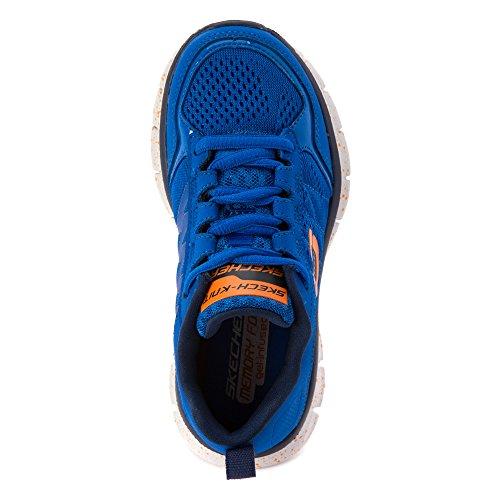 Skechers Synergy Power Blast Kids Fitness Trainers blue Lightwight