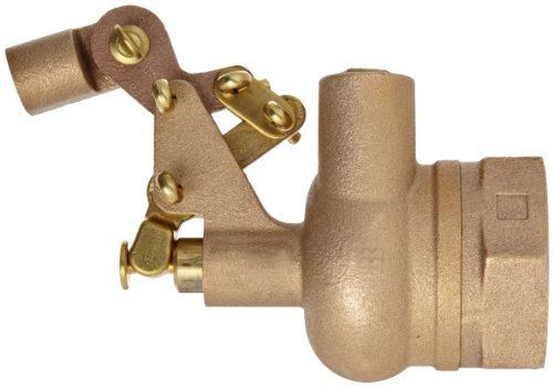 Robert Manufacturing RF610 Series Bob Red Brass Float Valve with Compound Operating Lever, 1-1/2'' NPT Female Inlet x FreeFlow Outlet, 180 gpm at 85 psi Pressure by Robert Manufacturing (Image #2)