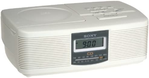 Sony ICFCD810 AM FM CD Clock Radio Discontinued by Manufacturer