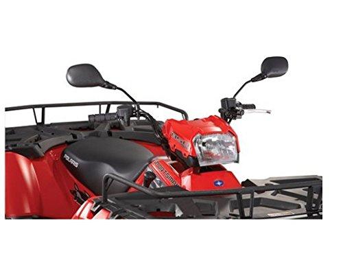 (New OEM Polaris Mounted ATV Mirrors Left & Right Set 2011 2012 Polaris Sportsman 90 400 500 550 700 800 850 2877222)