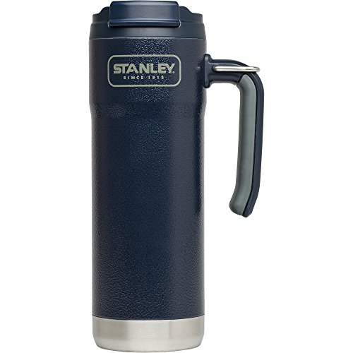 Stanley Adventure Vacuum Insulated Travel Mug, Hammertone Navy, 20 oz by Stanley